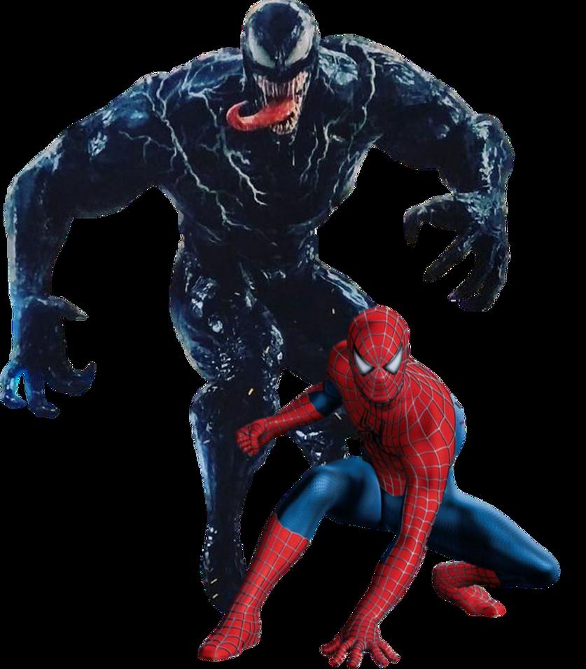 Venom And Spider-Man PNG By Gasa979 On DeviantArt