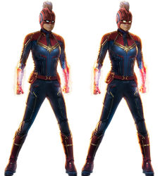 Captain Marvel PNG by Gasa979