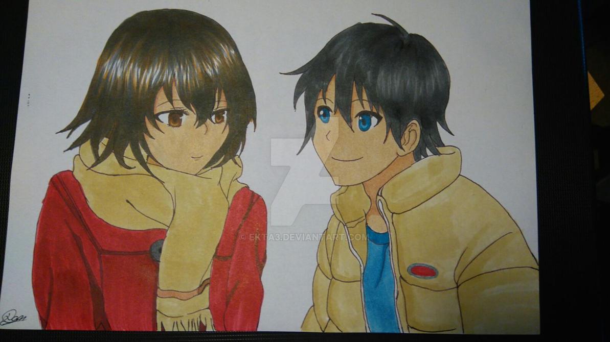 Boku dake ga Inai Machi Kayo Hinazuki-Satoru Fu 3 by Ekta3