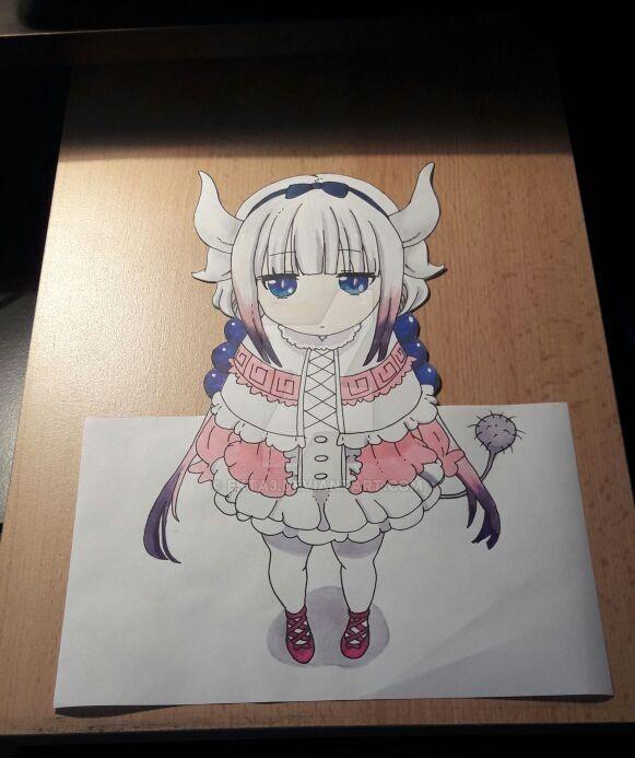 Kobayashi-san Chi no Maid Dragon- Kanna 3D by Ekta3