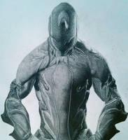warframe drawing :excalibur