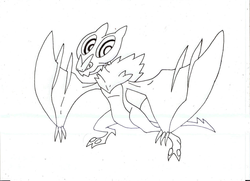 noivern coloring pages - photo#7