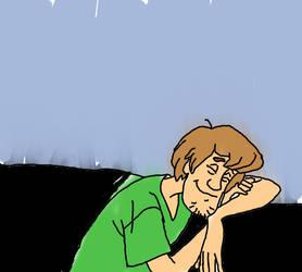 Shaggy Sleeping by dramaprincess12