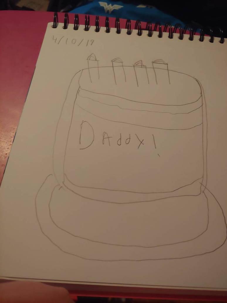 Birthday cake 4 dad by dramaprincess12