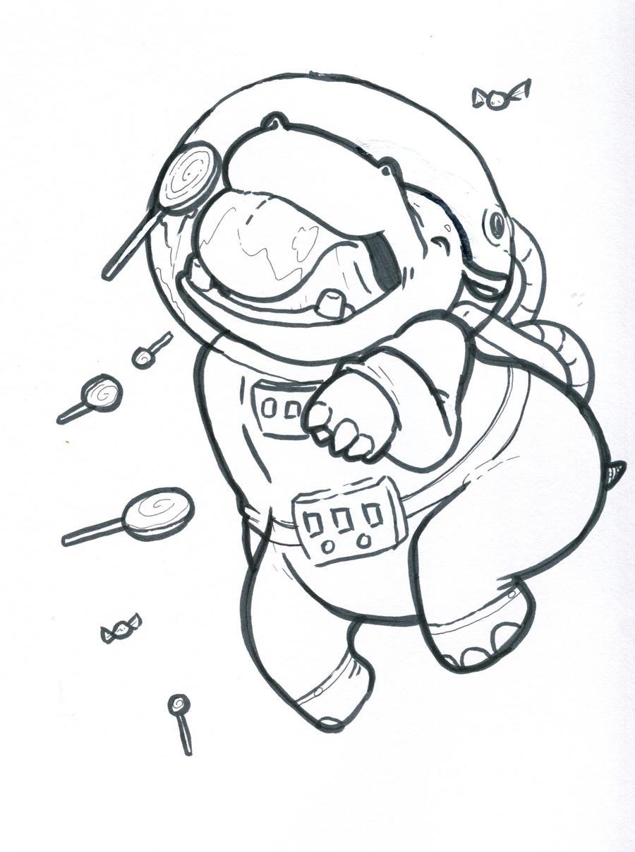 space hippo by jutchy space hippo by jutchy