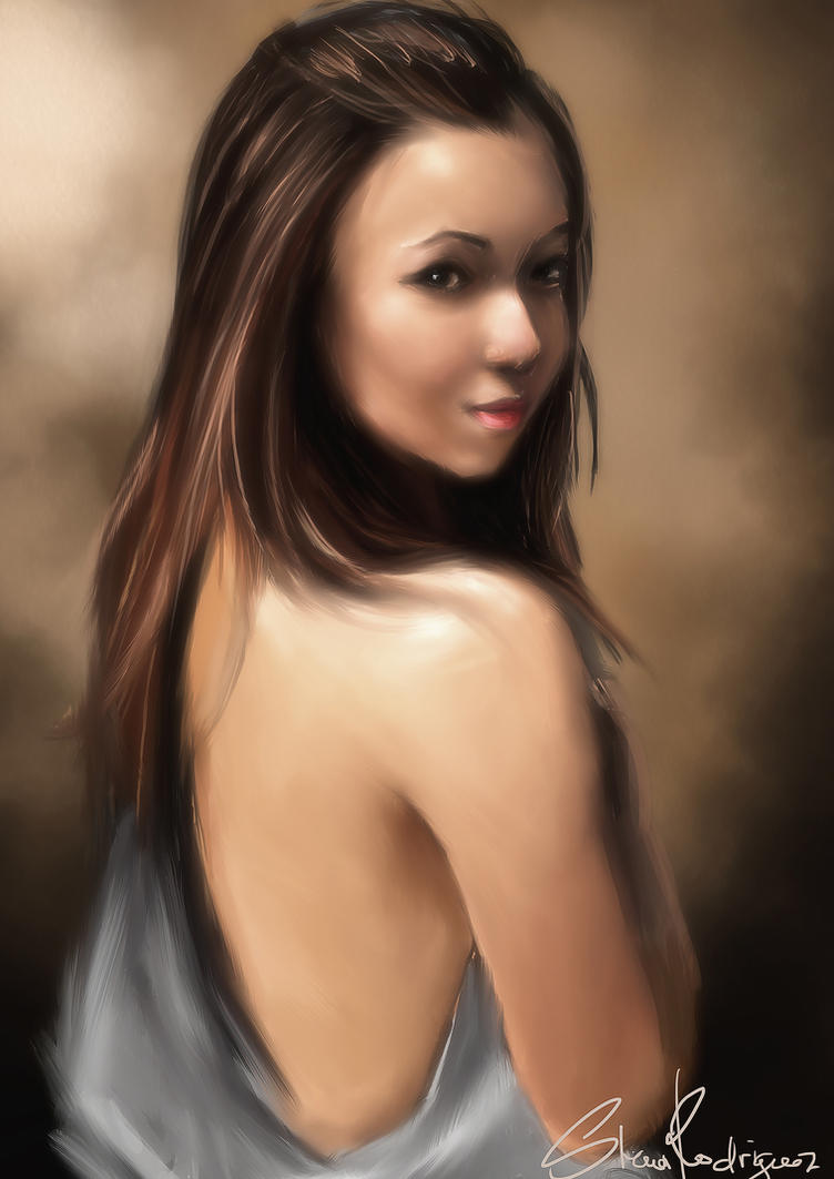 Beautiful Miss Jeda by shaunrodriguez29