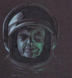 John Glenn by nekochan25