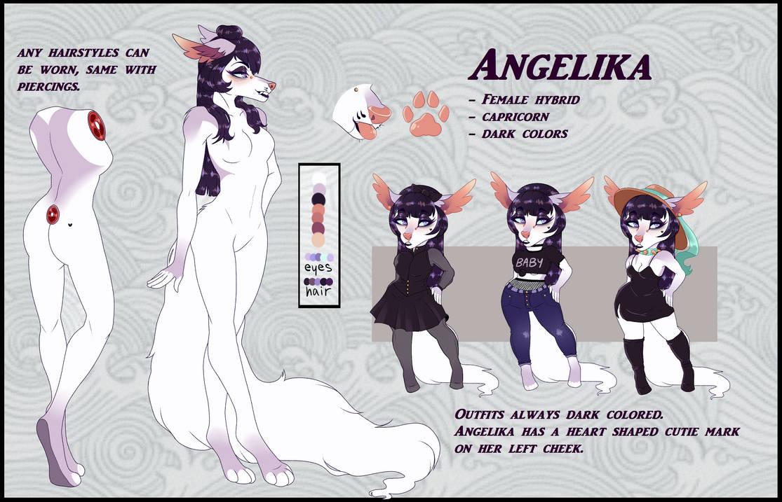 Angelica by Vlinnyy