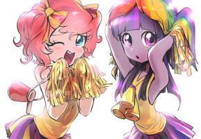 Cheergirls by quizia