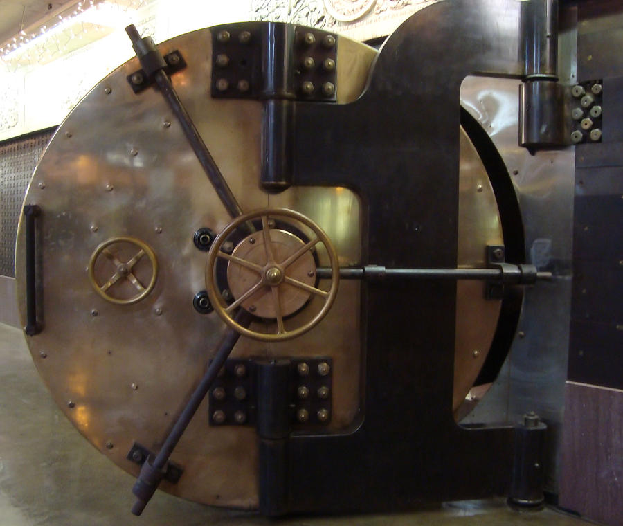Stlcm bank vault door by m3 productions on deviantart for Vault production