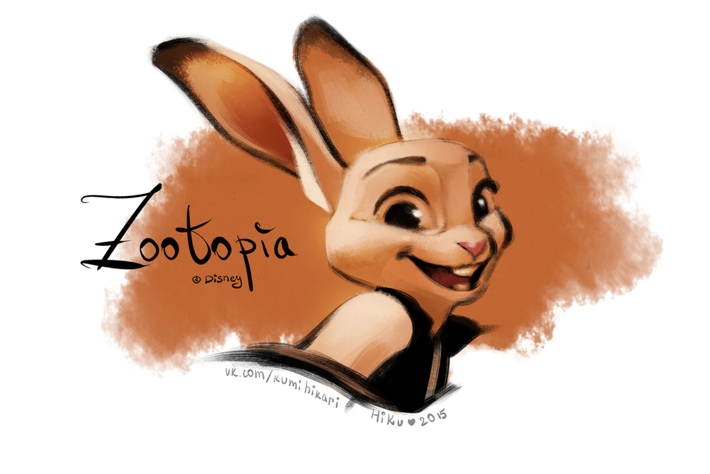 Zootopia - Judy Hopps by Hi-Ku