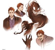 Venom and Eddie by Hi-Ku