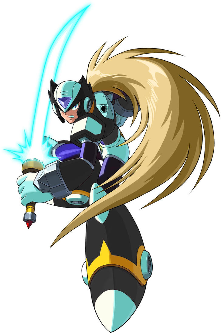 Megaman X  D-ARTS Black_Zero_by_Devilhunterlaioka