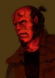 Hellboy by BalthazarDamassky