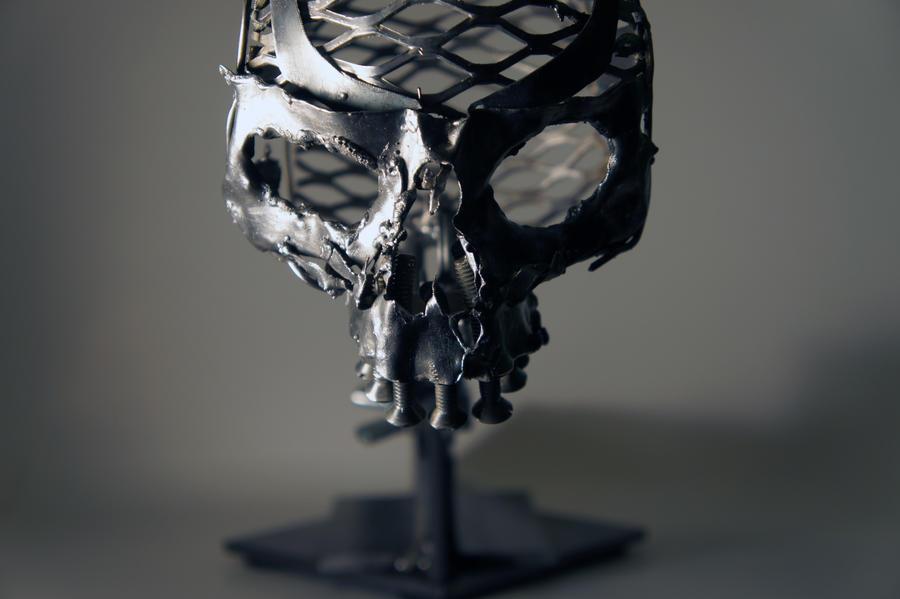 Scrap Metal Skull - 2