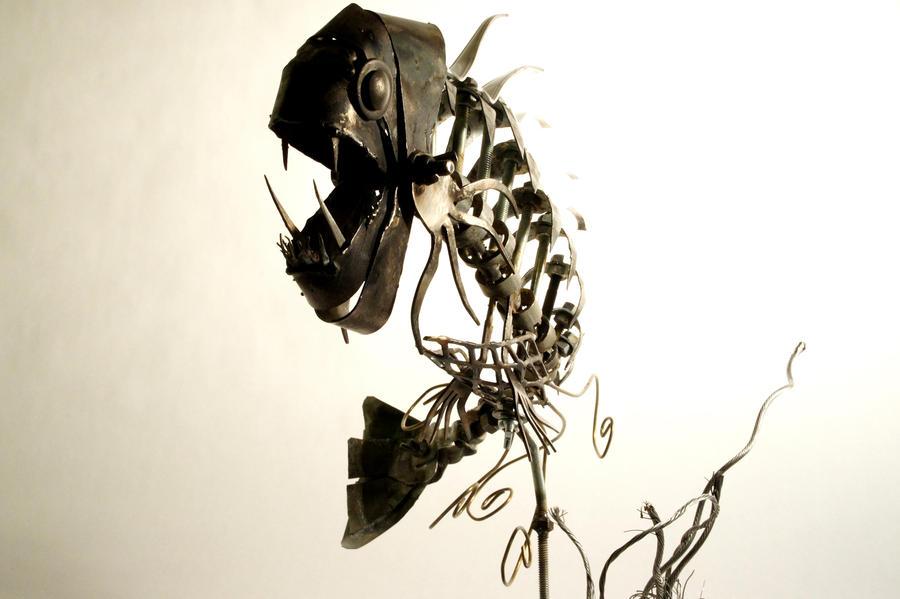 Scrap Metal Fishy - 1 by Devin-Francisco