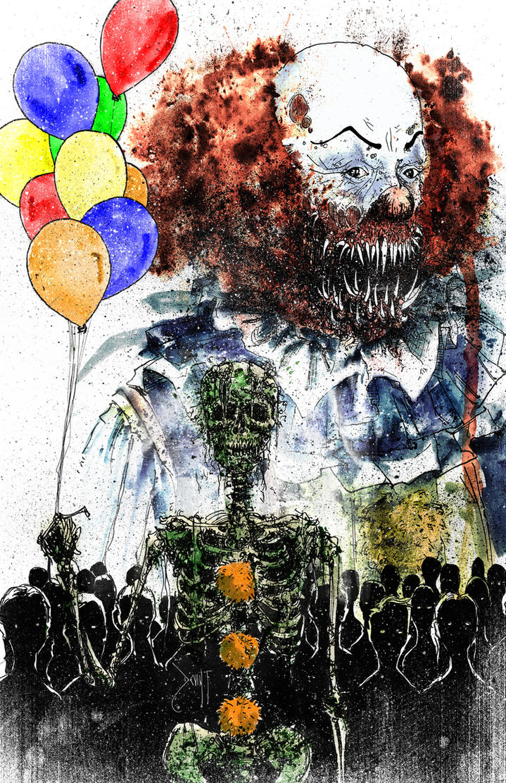 pennywise the dancing clown by devin