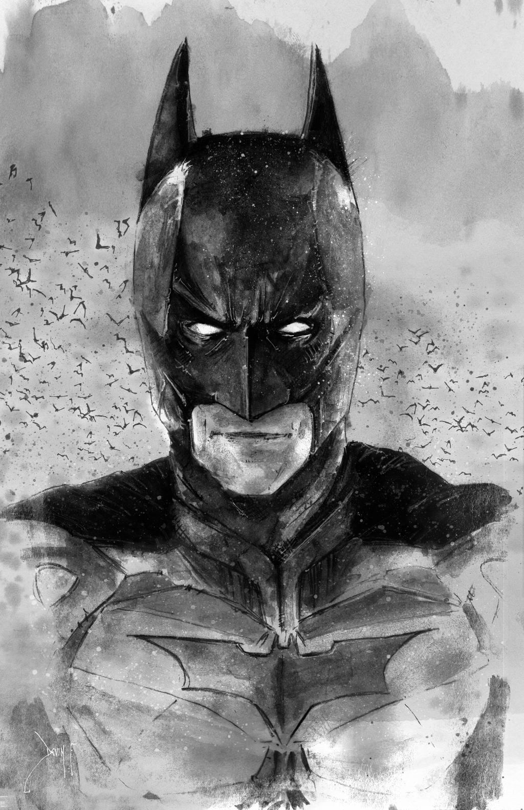 The Dark Knight by Devin-Francisco