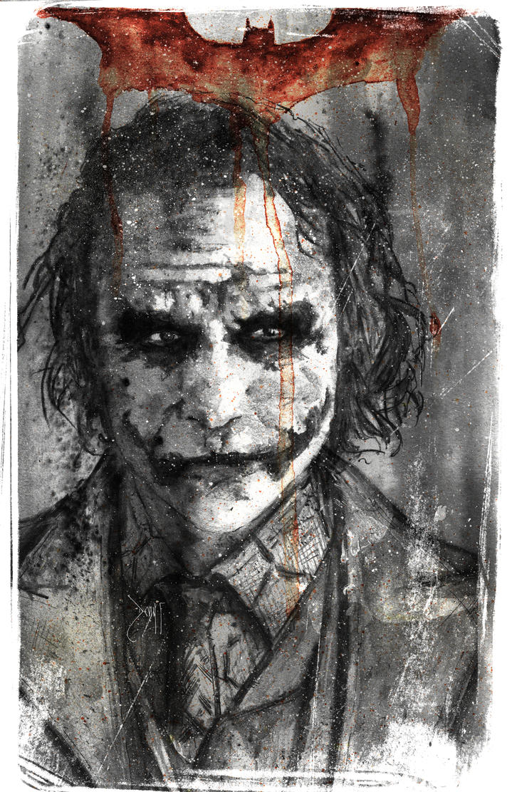 The Joker by Devin-Francisco