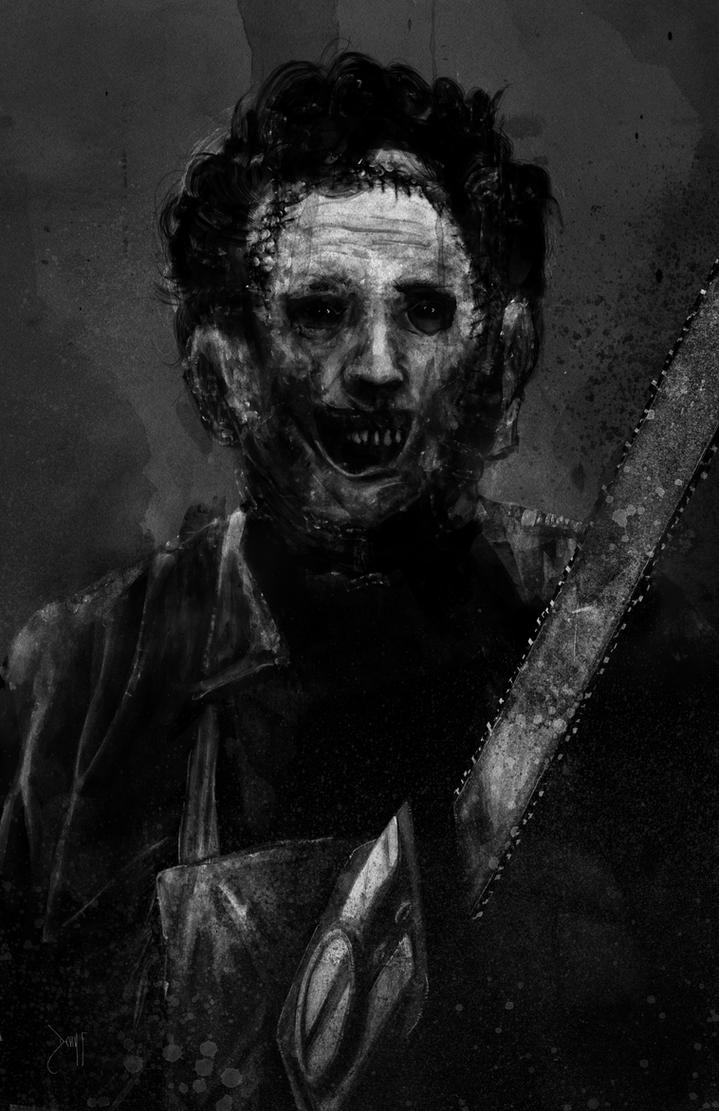 Leatherface by Devin-Francisco