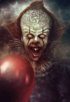 Pennywise the Dancing Clown  by Devin-Francisco