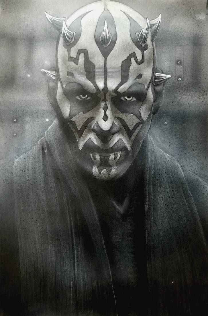 Darth Maul  by Devin-Francisco