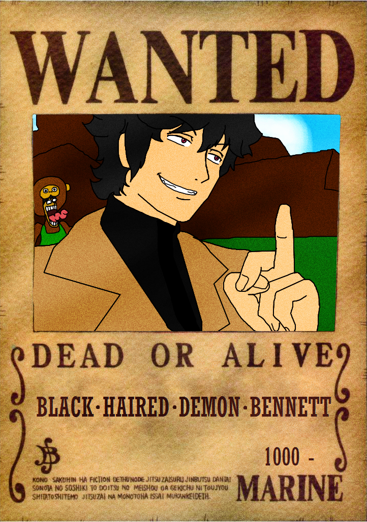 wanted poster on onepiece fan club deviantart. Black Bedroom Furniture Sets. Home Design Ideas
