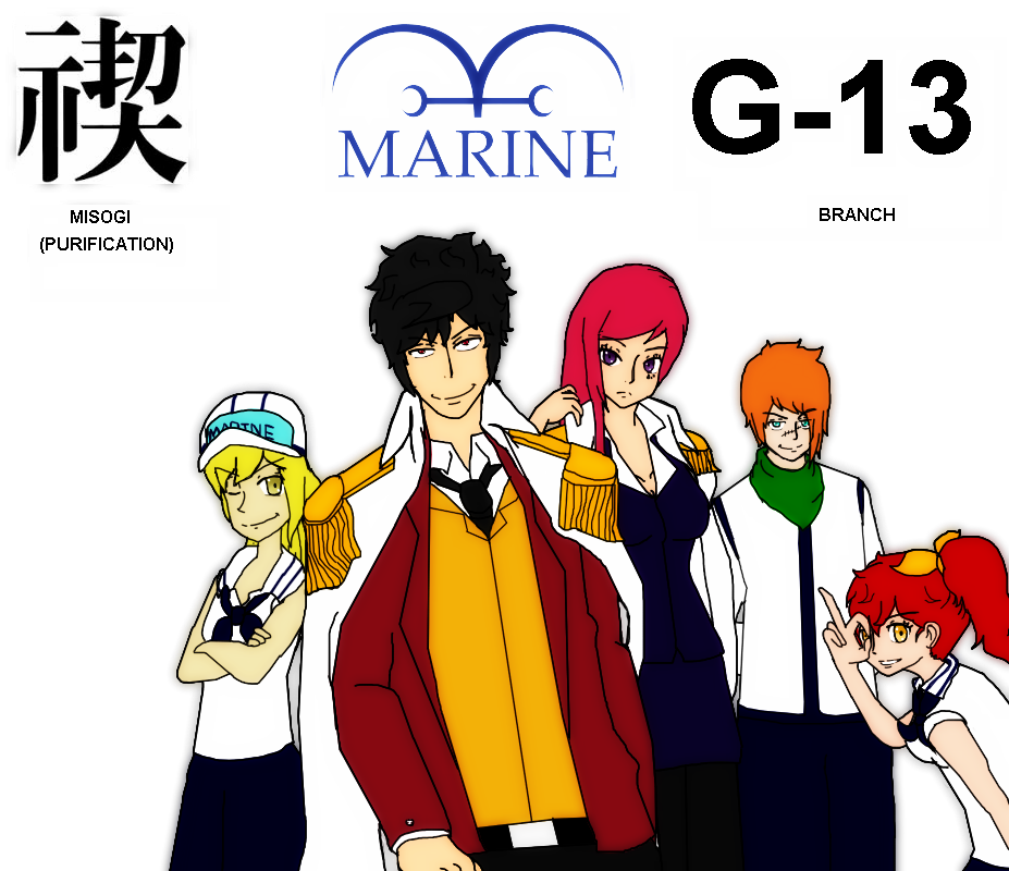 One Piece Oc Marines Alternate Universe By Triptime245 On Deviantart