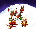 ONEPIECE OC: A race through Christmas