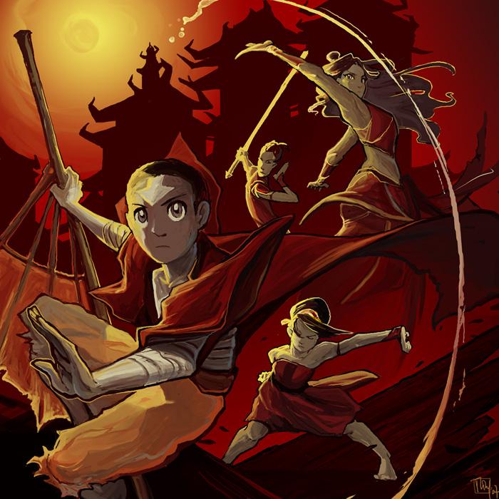 Season 3 Avatar fanart by ming85