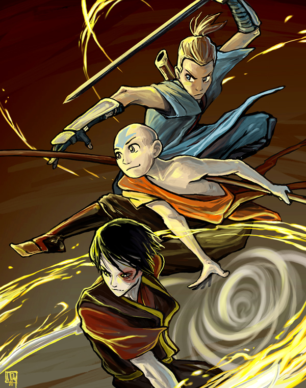 Avatar boys by ming85