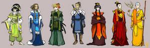 Older Gaang formal outfits