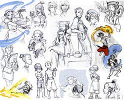 Avatar doodle dump2 by ming85