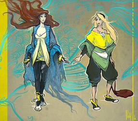 Kiriban - Leyra and Miranda by ming85