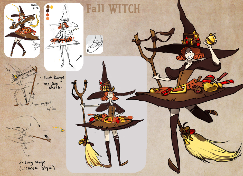 Fall Witch By Ming85 On Deviantart