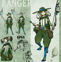 Spring Ranger by ming85