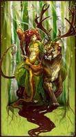 Earth elemental: Karra by ming85