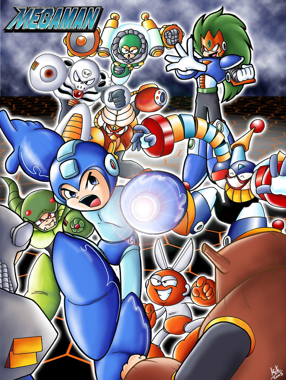 megaman by adile