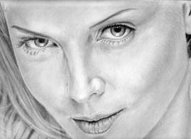 Charlize Theron by LAEllis