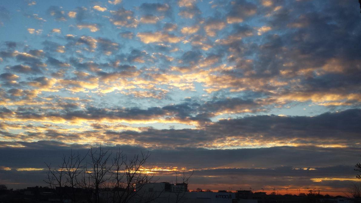 Altocumulus Sunrise by LordFrankeh