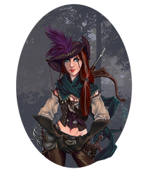 :COMM: Arialyss by Sybarico