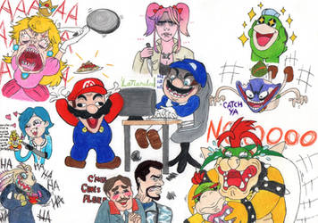 Smg4 Some Crazy Characters