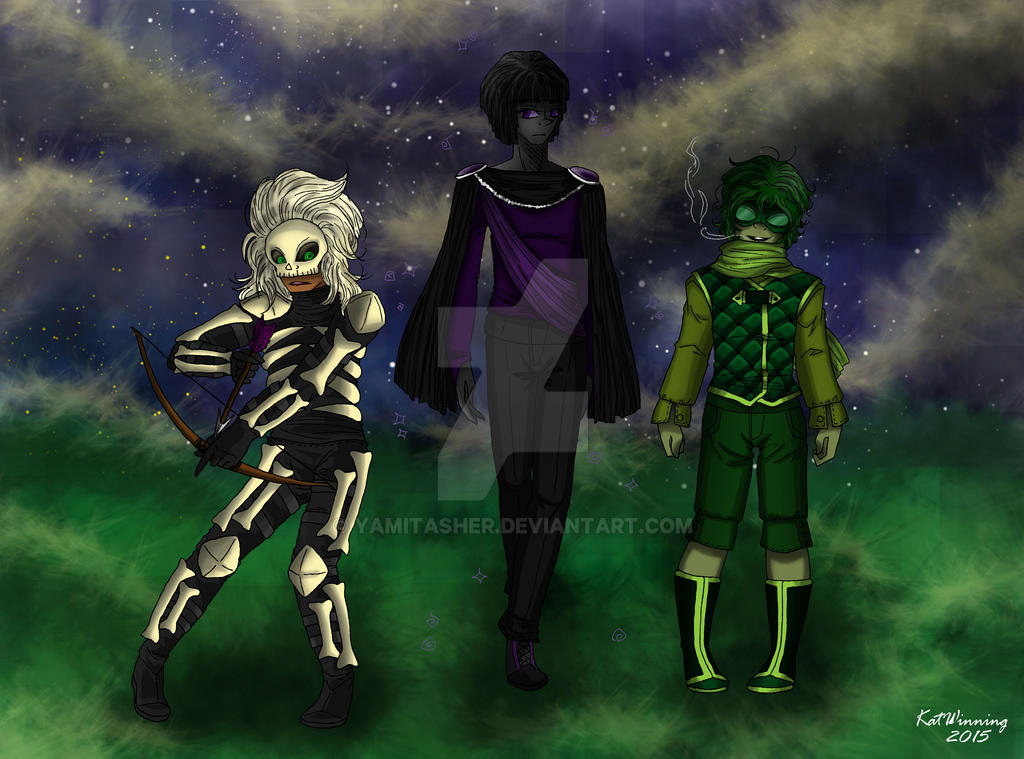 minecraft humanized skeleton enderman creeper by yamitasher on