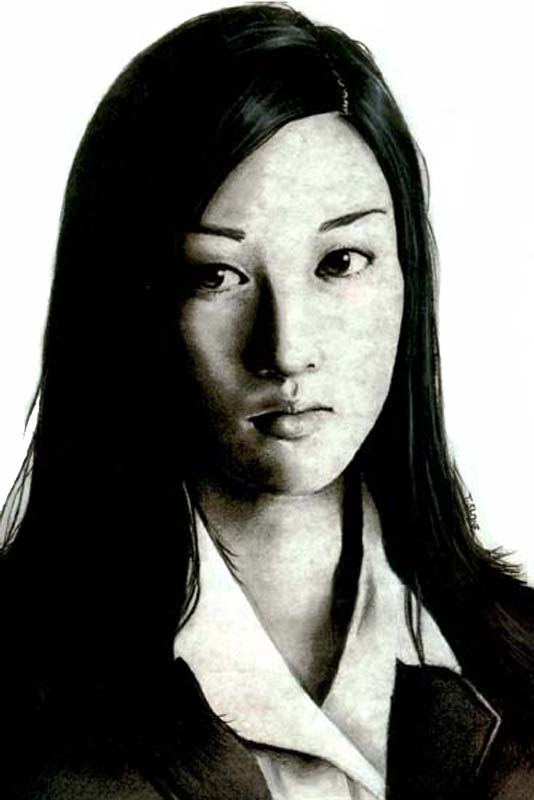 Charcoal Drawing by Vanillattea