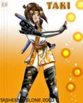 Taki from Soul Calibur