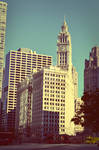 The Wrigley Building by RMoy-Art