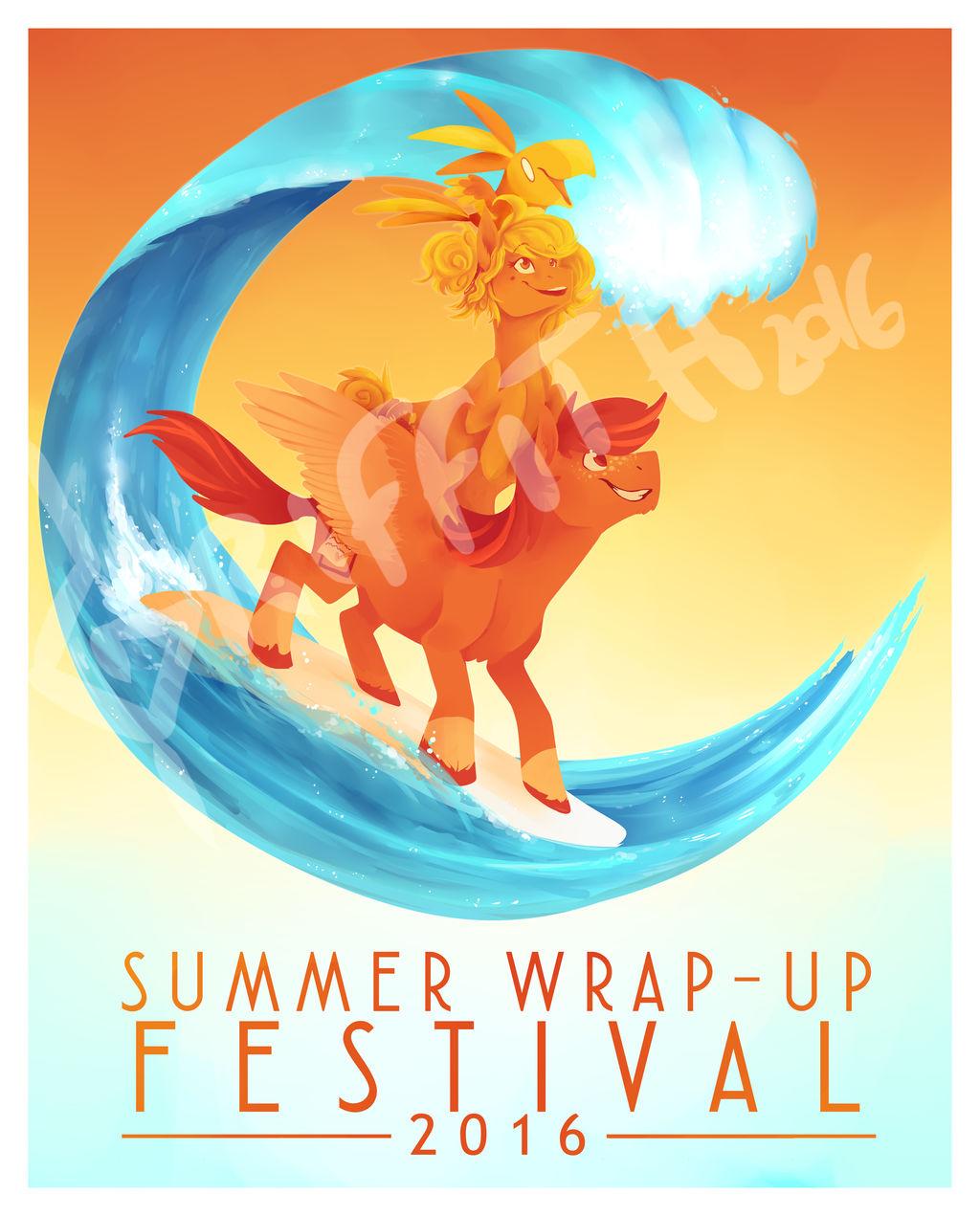SUMMER WRAP-UP FESTIVAL 2016 - Promo Poster