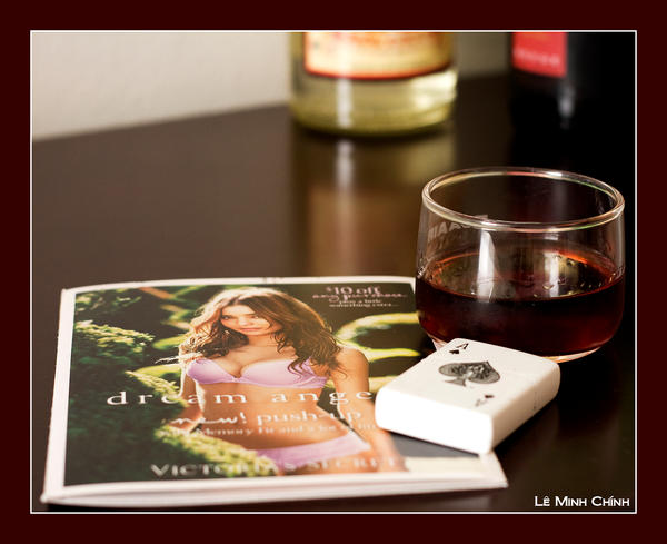 Zippo and Wine by crysisrules