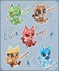 Cats ADOPT ( OPEN AUCTION ADOPT) by undeque