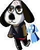 DNA: Klaxon the dog by PrincessPastelGalaxy